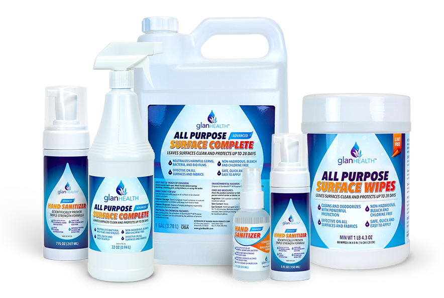 glanhealthssanitizing-products