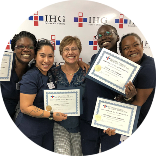 a group of happy medical assistant